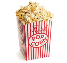 popcorn kcal